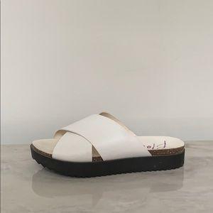 Platform Sandal Slides